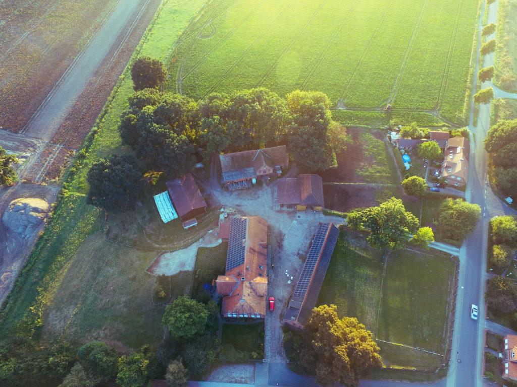 Fachwerkhaus mit Landwirtschaft für Direktvermarktung in Lüneburger Heide in der Nähe von Uelzen.
